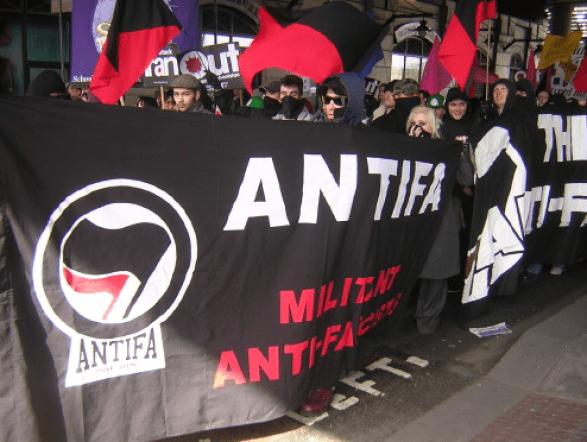 Antifa G20 demonstration
