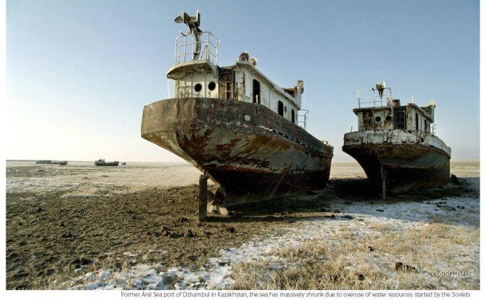 Aral Sea, Russia