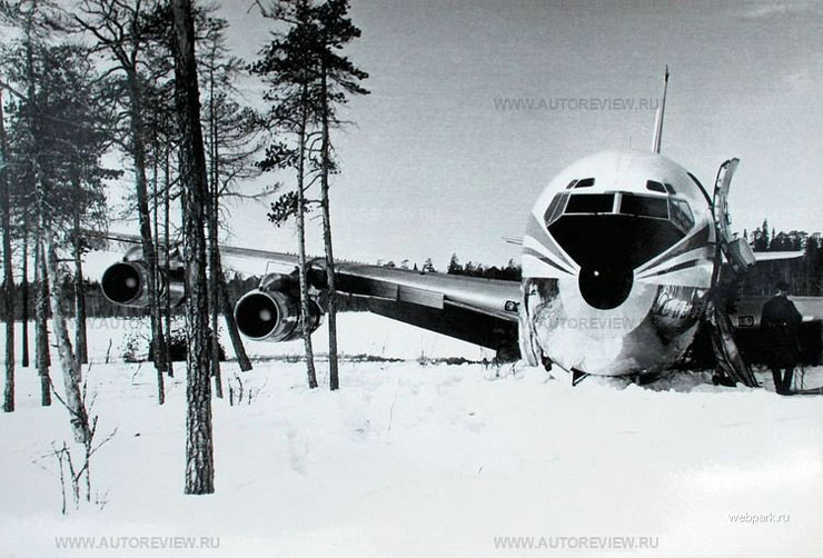 Korean plane in Russia 2