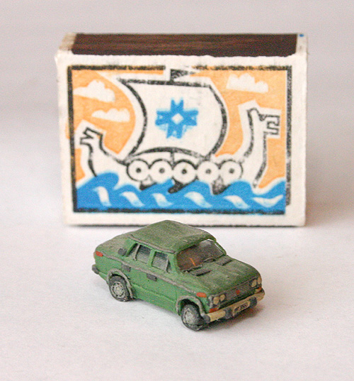 russian cars made of plasticine 1