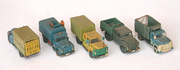 russian cars made of plasticine 6