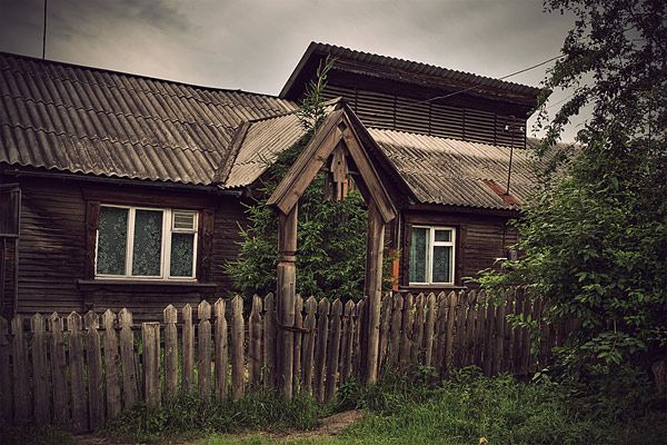 Russian wooden architecture 14
