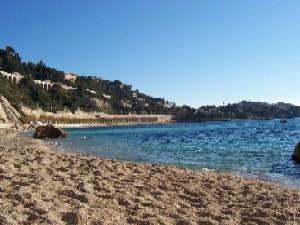 Beach Villefranche Sur Mer French Riviera