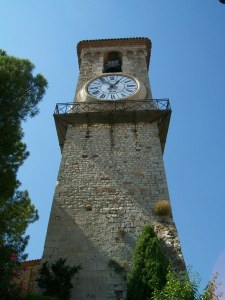 Cannes France Clock Tower