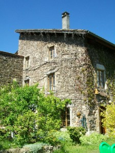 Stone House in Vivorols South of France