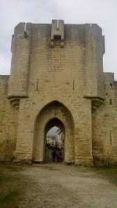 Langedoc Roussillion France Aigues Mortes