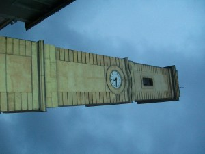 French Clock Tower