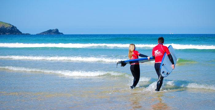 Family Surf Lessosn