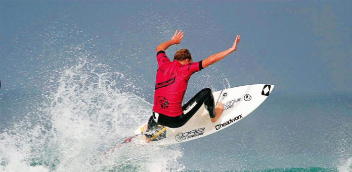 Learn to surf with pro surfer Johnny Fryer