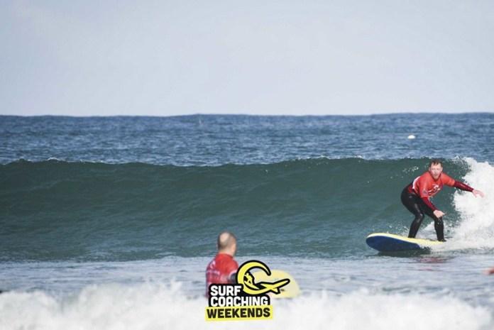 October surf coaching weekend