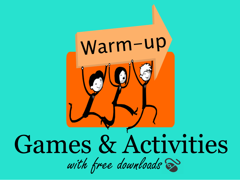 Esl Warm Up Activities With Free Powerpoint Download
