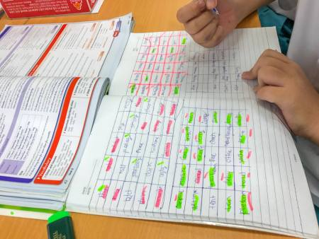 BINGO Vocabulary Review Game: All you need is a pen and a notebook!