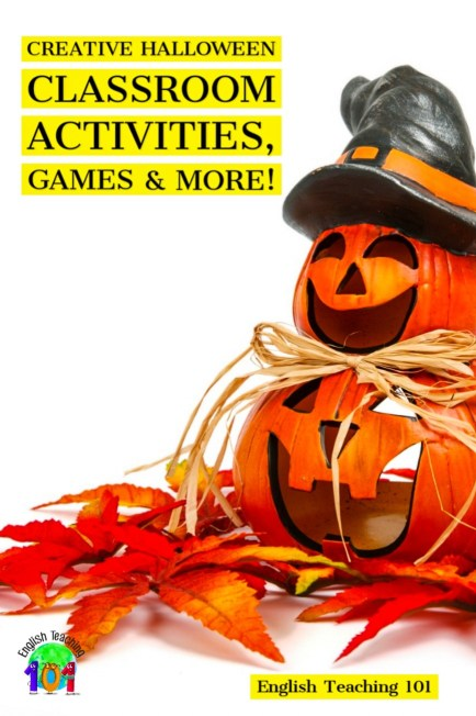 Halloween classroom activities for kids