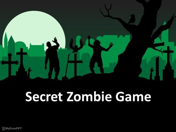 secret zombie conversation game