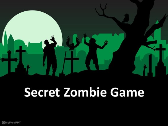secret zombie conversation game