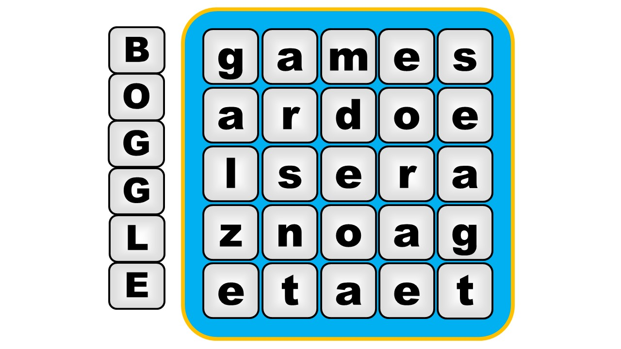 How to Win at Boggle pics