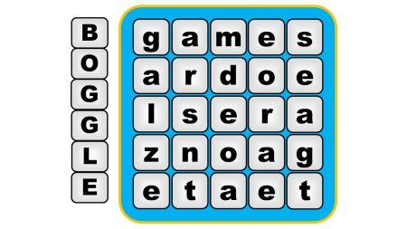 ESL Warm Up Activities - boggle vocabulary game