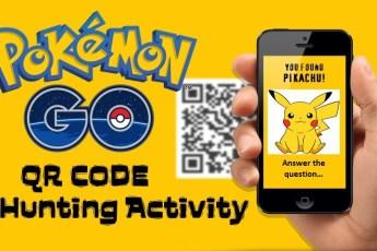 qr code classroom activity