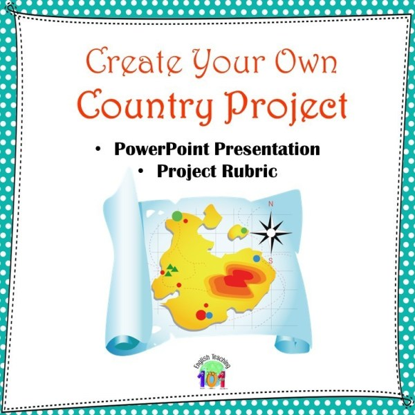 create your own country activity