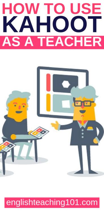 kahoot create as a teacher