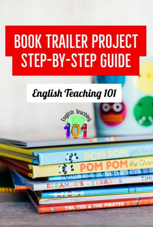 creating a book trailer in class