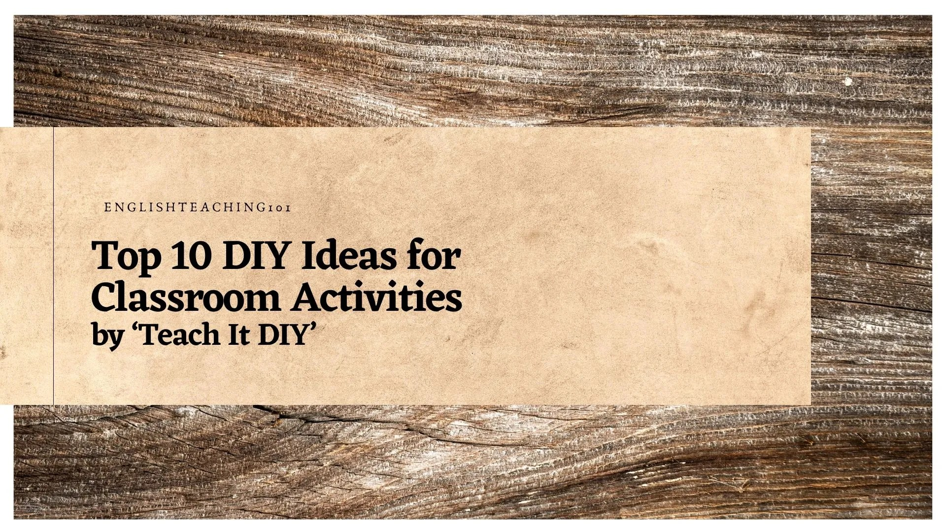 DIY ideas and activities