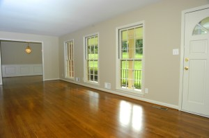 Refinish hardwood floors in Atlanta homes for sale