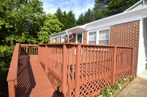 12 Front deck 1