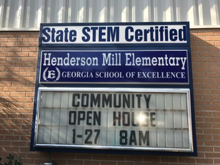 Henderson Mill Elementary Strong Parent Leadership