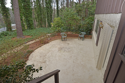 3718 Northbrook Court Atlanta GA 30340 41 Patio 1