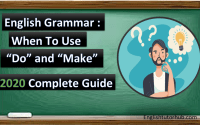 "When To Use ""Do"" and ""Make"" In English Grammar Lesson"