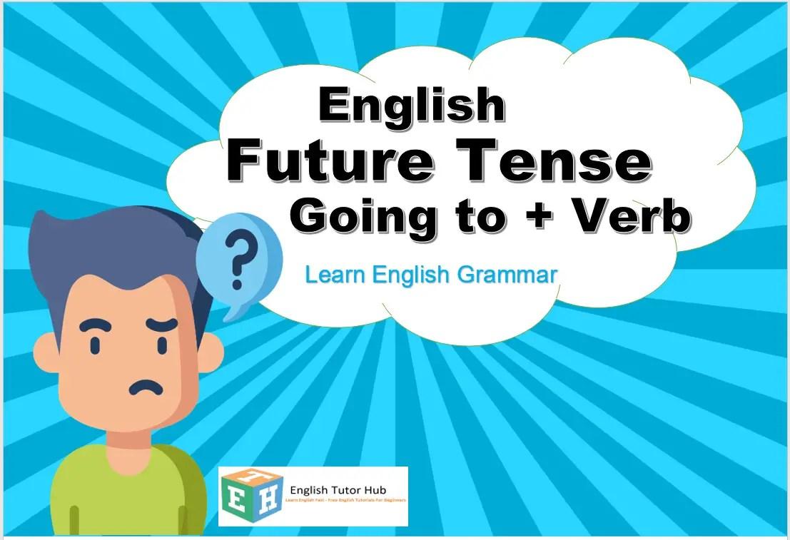 English Future Tense Going to +verb