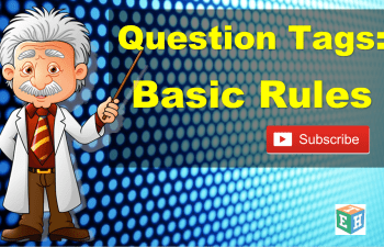 Question tags Basic Rules