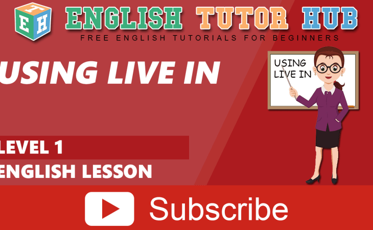 Using Live in | English Lesson