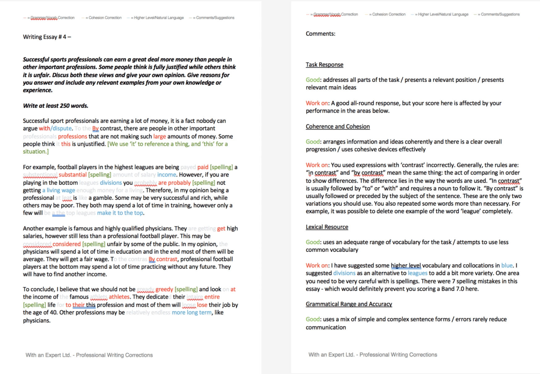 ielts blog writing service