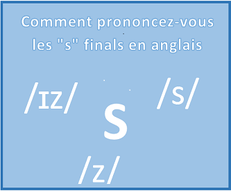 "Comment prononcer le ""s"" final en anglais?   /s/  /z/ ou /ɪz/"