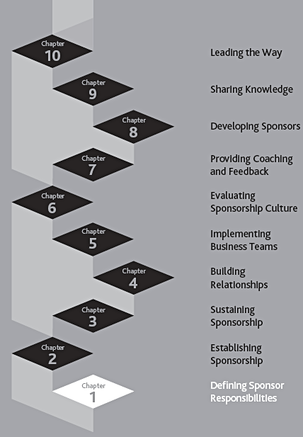 ladder steps for project sponsorship