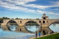 Pont d'Avignon, France.
