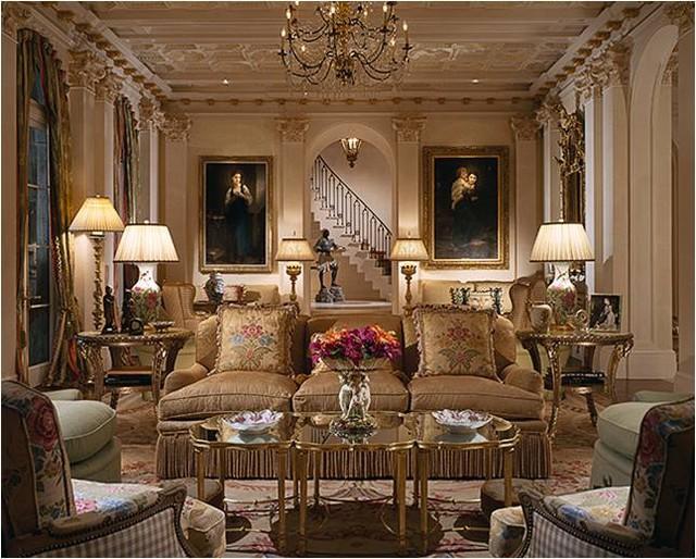 Classic Living Room 60 Designs
