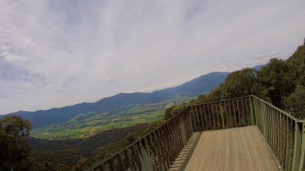 the view from Tawonga Gap