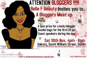 belle f beauty bloggers meetup