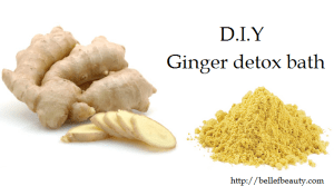 ginger diy detox