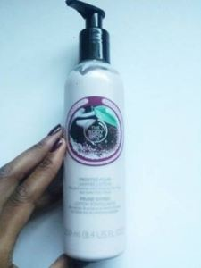 frosted plum shimmer lotion