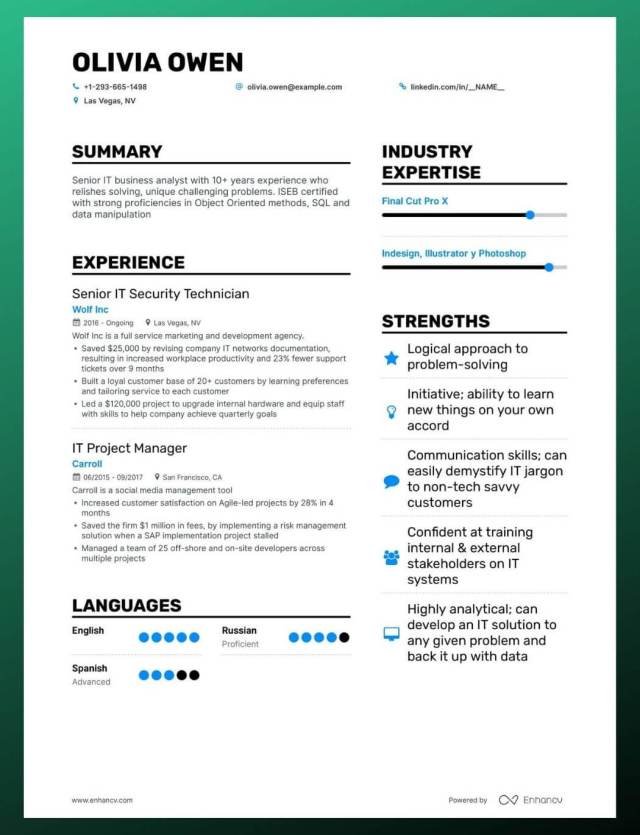 How to Create A Resume Skills Section To Impress Recruiters (+13