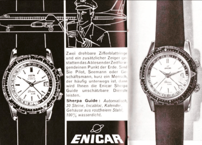 The Guide was marketed as a pilot watch.