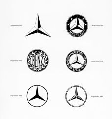 Mercedes-Benz and the star logo.