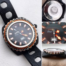Sherpa Star Diver with a huge rotating ring.
