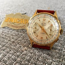 Over sized chronograph Valjoux 22