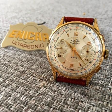 Over sized chronograph Valjoux 22