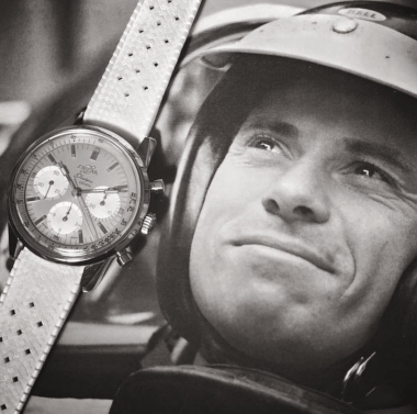 Jim Clark and his Enicar